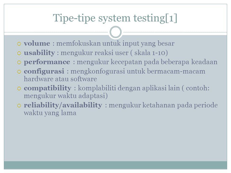 Tipe-tipe system testing[1]